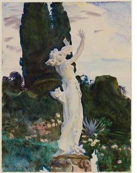 Featured image is reproduced from <I>John Singer Sargent: Watercolors</I>.