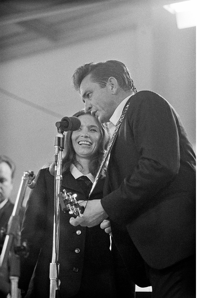 Johnny Cash at Folsom and San Quentin, empowered as if by divine authority