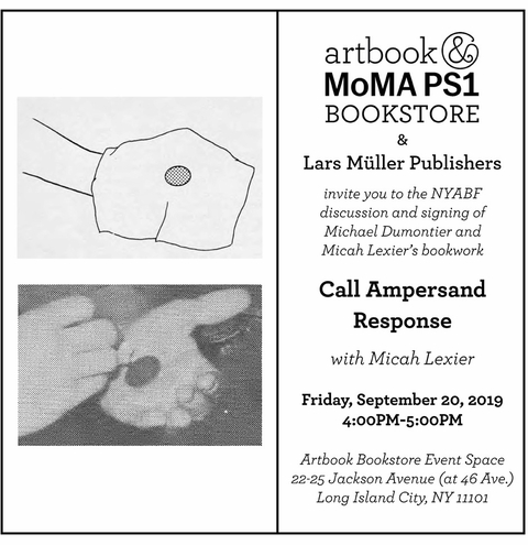 Join Artbook Bookstore Event Space for signings and launch events at the NYABF 2019!