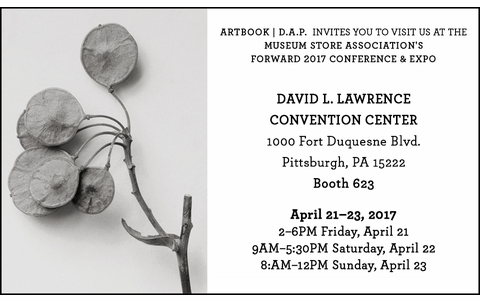 Join ARTBOOK | D.A.P. at the 2017 MSA Conference