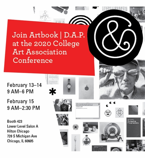 Join Artbook | D.A.P. at the 2020 CAA Conference in Chicago