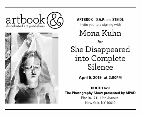 Join Artbook   D.A.P. for signings at AIPAD 2019!