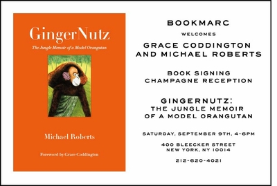 Join Grace Coddington & Michael Roberts at BOOKMARC for the Downtown launch of 'GingerNutz'