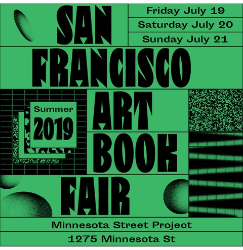 Join us at the SF Art Book Fair, 2019!