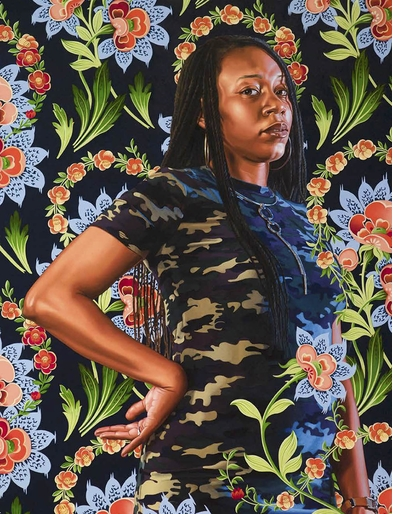 Kehinde Wiley challenges the history of art, empire and social domination