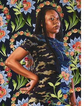 "Detail of ""Charles I"" (2018) is reproduced from ""Kehinde Wiley: Saint Louis."""