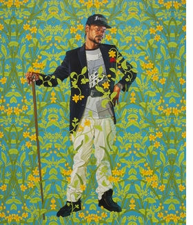 """Jacob de Graeff"" (2018) is reproduced from ""Kehinde Wiley: Saint Louis."""