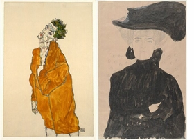 Featured images are reproduced from 'Klimt and Schiele: Drawings.'