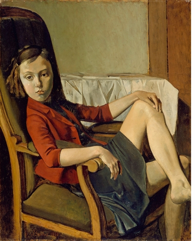 Languid grace at ill-defined borders in 'Balthus'