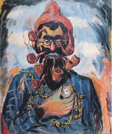 Late Magritte: the missing link between James Ensor and Zap Comix