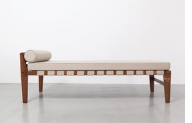Pierre Jeanneret's Demountable Bed (1955-56) is reproduced from <I>Le Corbusier & Pierre Jeanneret: Chandigarh, India</I>.