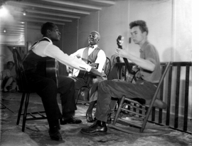 Featured image is reproduced from 'Lead Belly: A Life in Pictures.'