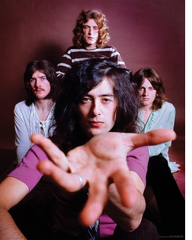 Featured image is reproduced from 'Led Zeppelin by Led Zeppelin.'