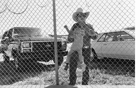 Featured image is reproduced from 'Lee Friedlander: Chain Link.'