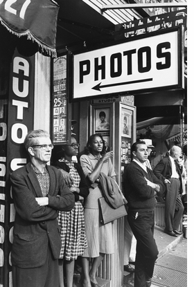 Featured image is reproduced from 'Lee Friedlander: Signs.'