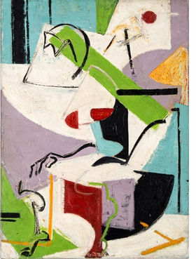 Featured image is reproduced from 'Lee Krasner: Collage Paintings 1938–1981'.