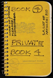 Lee Lozano: Private Book 4