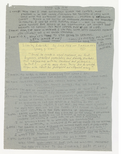 Like riding a comet: Jack Whitten's 'Notes from the Woodshed'