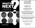 Linda Weintraub to launch 'WHAT'S NEXT? Eco Materialism & Contemporary Art' at Artbook at Hauser & Wirth Bookstore, Los Angeles