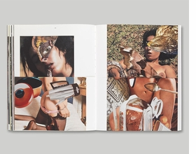 Featured spread is courtesy of graphic design studio, A Practice for Everyday Life.