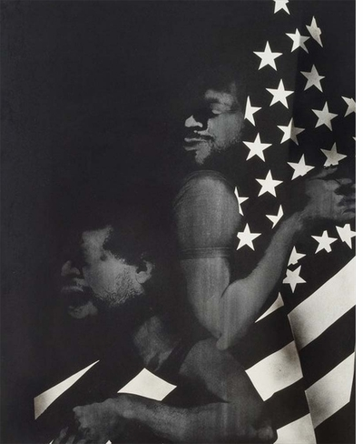Looking to David Hammons, as we search the soul of our nation
