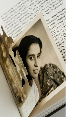 Featured image is a detail of a spread from 'Luchita Hurtado.'