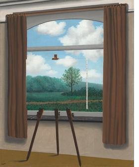 """Featured image, """"The Human Condition"""" (1933), is reproduced from <I>Magritte: The Mystery of the Ordinary, 1926-1938</I>."""