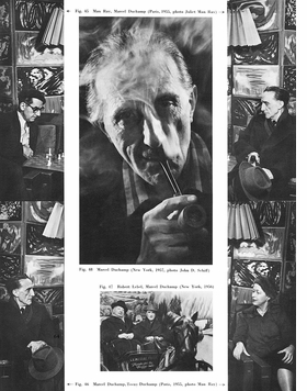Featured image is reproduced from 'Marcel Duchamp.'