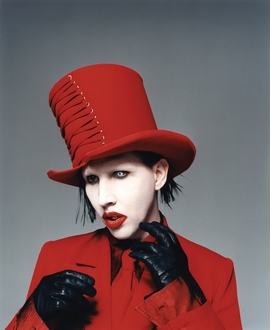 Featured image is reproduced from 'Marilyn Manson by Perou.'