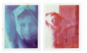 """Featured images, Polaroid portraits of the artist Jack Pierson, made in approximately 1980 and 1979, are by the under-recognized and profoundly poetic Boston School photographer, Mark Morrisroe, whose work can be seen for the first time in its entirety in this long-awaited monograph, <a href=""""9783037641217.html"""">Mark Morrisroe</a>. Pierson, then-known as Jonathan, and Morrisroe met in 1978, and stayed closely connected to one-another for more than three years, photographing, drawing and painting one-another, experimenting with drugs and celebrating """"an open, unconventional sexuality,"""" according to essayist Teresa Gruber. Morrisroe died in 1989, at the age of 30, from HIV-related complications."""