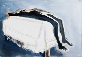 """""""Waiting (For Meaning)"""" (1988) image is reproduced from <I>Marlene Dumas: The Image as Burden</I>."""