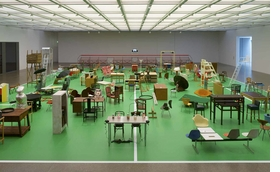 Featured image is reproduced from 'Martin Kippenberger: The Happy End of Franz Kafka's Amerika'.