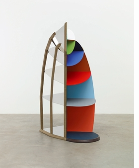 """Martin Puryear, """"Faux Vitrine"""", 2014 is reproduced from <i>Martin Puryear</i>."""
