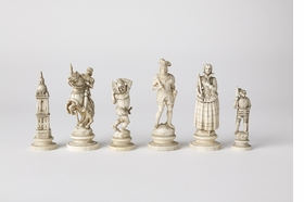Featured image is reproduced from 'Masterworks: Rare and Beautiful Chess Sets of the World.'