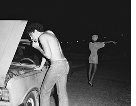 Featured image: Javier and Januaria suffer a breakdown, both the car and the relationship. Habana, 2009.