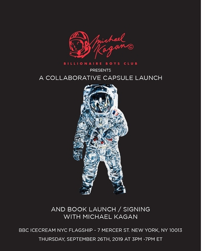 Michael Kagan Book Launch and Signing Event at The Billionaire Boys Club NYC Flagship Store