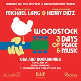 Michael Lang & Henry Diltz to launch 'Woodstock: 3 Days of Peace & Music' at Rizzoli