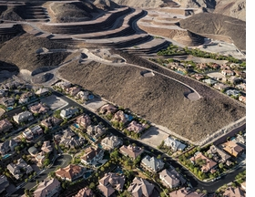 Featured image is reproduced from <I>Michael Light: Lake Las Vegas/Black Mountain</I>.