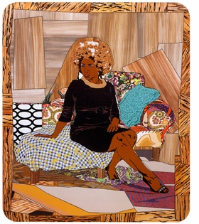 """Featured image, """"I Learned the Hard Way"""" (2010) is reproduced from <I>Mickalene Thomas: Origin of the Universe</I>."""