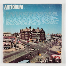The October 1976 issue of <I>Artforum</I> is reproduced from 'A History of PS1.'