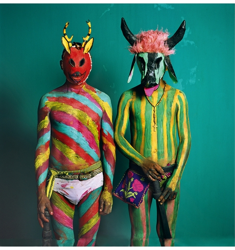 Morbid Anatomy presents 'Mexico Masks Rituals: An Evening with Photographer Phyllis Galembo' at Green-Wood Cemetery
