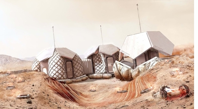 'Moving to Mars: Design for the Red Planet' is a Strategist Most Giftable Coffee-table Book 2019!