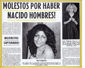 Featured spread is reproduced from <I>Mujercitos</I>.