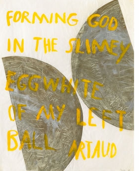Featured image is reproduced from 'Nancy Spero: Acts of Rebellion.'