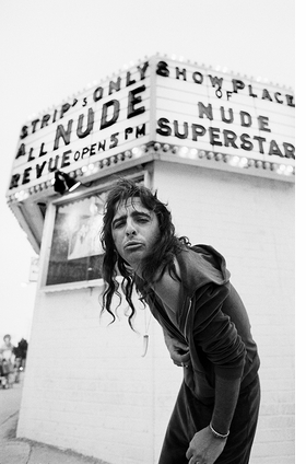 """""""Alice Cooper, Los Angeles"""" (1977) is reproduced from 'Neal Preston: Exhilarated and Exhausted.'"""