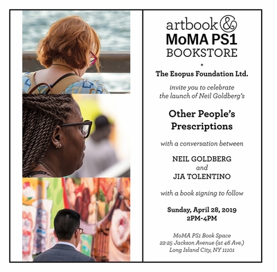 'Neil Goldberg: Other People's Prescriptions' launch at MoMA PS1 Book Space