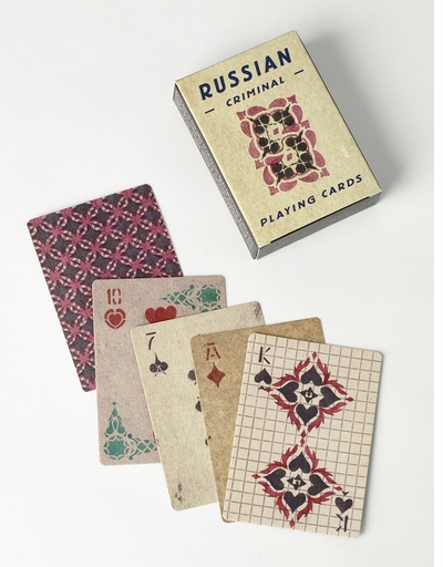 New from FUEL! Russian Criminal Playing Cards