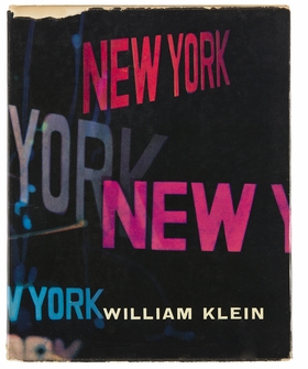 """Cover from """"William Klein: Life is Good & Good for You in New York"""" is from 'New York in Photobooks."""