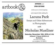 Nicholas Muellner to launch 'Lacuna Park' at Artbook at Hauser & Wirth Bookstore, Los Angeles