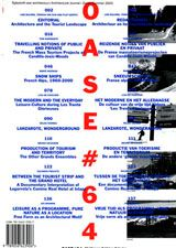 OASE 64: Landscape And Mass Tourism